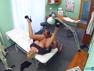 Nude amateur porn with a horny doctor and a mature woman