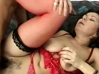 big stepmoms hairy ass destroyed by a big dick