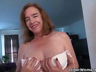 Mature ladies are often masturbating in front be required of the camera while completely alone on good terms